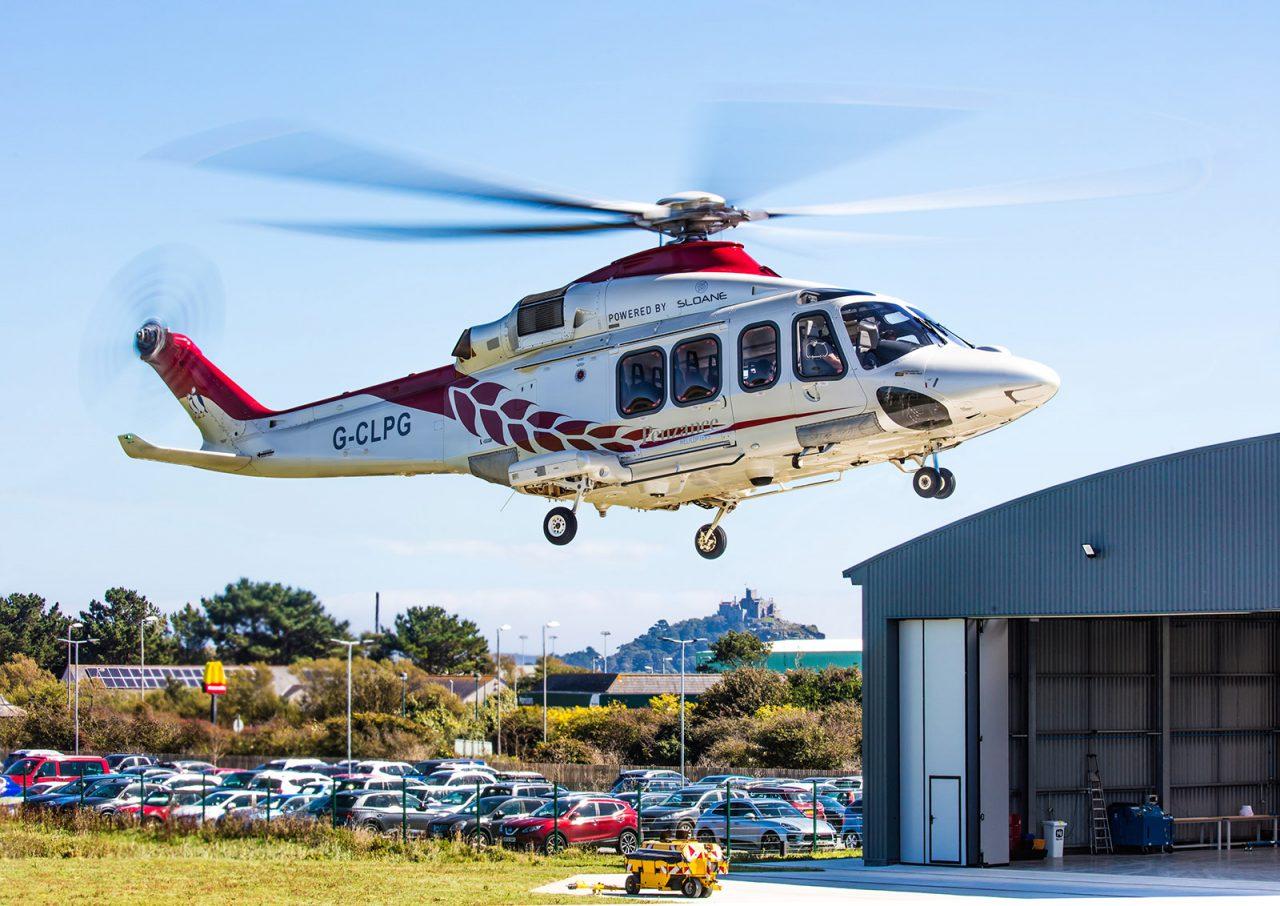 Penzance Helicopter Landing