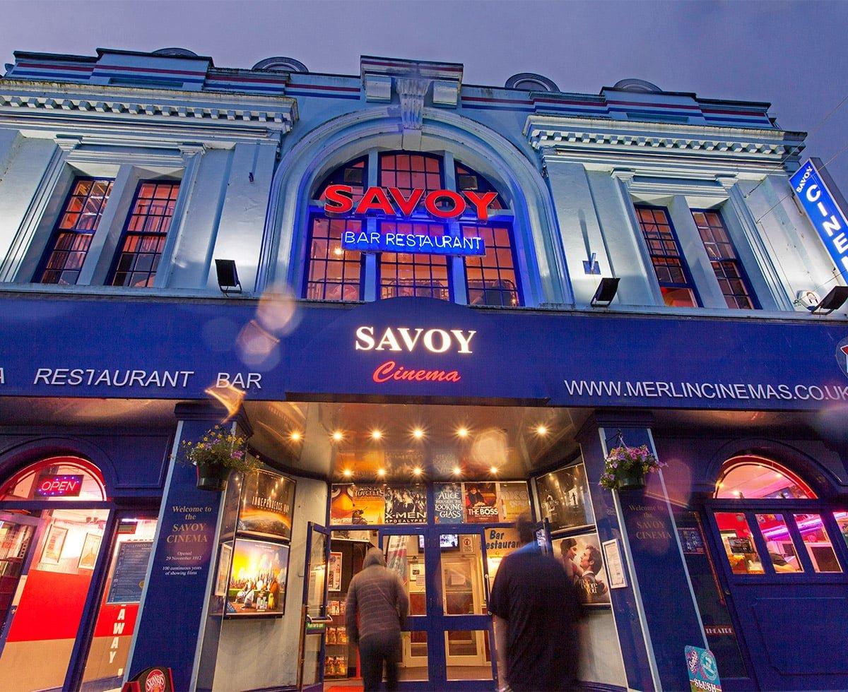 Penzance Cinema Savoy based on Causewayhead